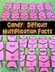 Halloween Multiplication Fact Math Puzzles