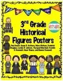 Historical Figures- POSTERS- Paul Revere, Cesar Chavez, LBJ, Etc