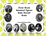 Third Grade Historical Figures Review Scoot Game