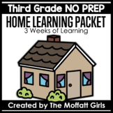 Third Grade Home Learning Packet NO PREP Distance Learning