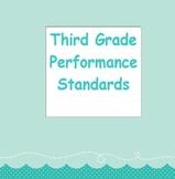 "Third Grade ""I Can"" Common Core Standards-English Language Arts"