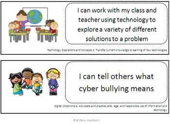 I Can Statements Third Grade Technology Integration