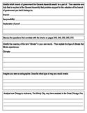 """Third Grade """"Illinois, Our State"""" Social Studies Study Guide"""