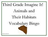 Third Grade Imagine It! Animals and Their Habitats Vocabul
