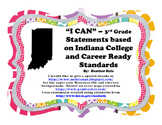 "Third Grade Indiana ""I Can"" Statements - Sample"
