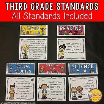 Third Grade Indiana Standards