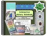 Third Grade Interactive History Notebook: Core Knowledge F