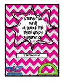 Third Grade Interactive Math Notebook - Numeration