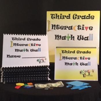 Third Grade Interactive Math Wall