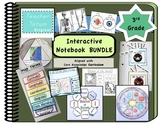 Third Grade Interactive Notebook BUNDLE: Core Knowledge Foldables