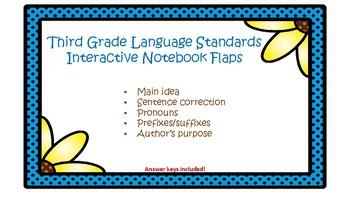 Third Grade Interactive Notebook Flaps
