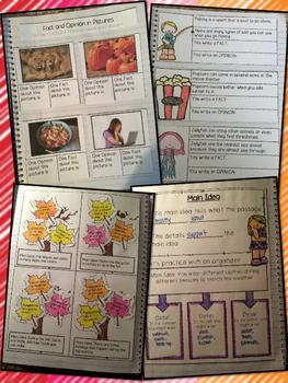 Third Grade Interactive Reading Notebook Bundle