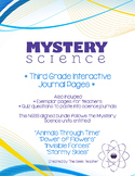 Third Grade Interactive Science Journals - Mystery Science Bundle