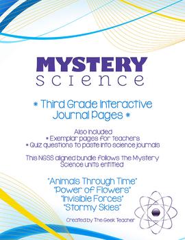 Third Grade Interactive Science Journals - Mystery Science Bundle
