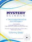 Third Grade Interactive Science Journals - Mystery Science (Stormy Skies)