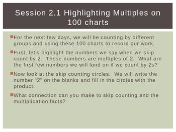 Third Grade Investigations Unit- Multiplication