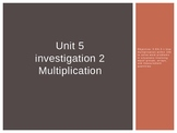Third Grade Investigations Unit- Multiplication