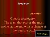 Third Grade Jeopardy - Standardized Test Prep (science)