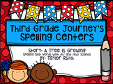 Third Grade Journey's Spelling Centers & Activities (Story: A Tree is Growing)