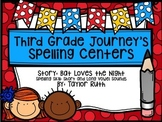 Third Grade Journey's Spelling Centers & Activities (Story: Bat Loves The Night)