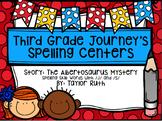 Third Grade Journey's Spelling Centers & Activities (Story: The Albertosaurus)