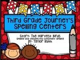 Third Grade Journey's Spelling Centers & Activities (Story: The Harvest Birds)