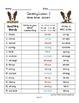 Third Grade 3rd Grade Journeys 2010 Spelling Word Work Activities 30 Lessons