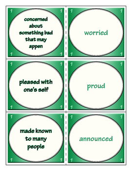 Third Grade Journeys Unit 1 Vocabulary Flashcards