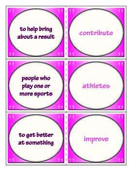 Third Grade Journeys Unit 3 Vocabulary Flashcards