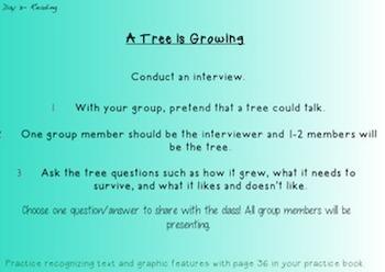 Third Grade Journeys Unit 4 Interactive Notebook Presentation