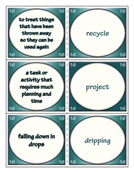 Third Grade Journeys Unit 4 Vocabulary Flashcards