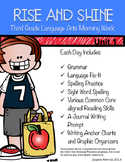 Third Grade Language Arts Morning Work Unit 1