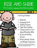 Third Grade Language Arts Morning Work Unit 3