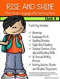 Third Grade Language Arts Morning Work Unit 4