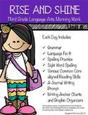 Third Grade Language Arts Morning Work Unit 6