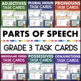 Third Grade Language Arts Task Cards BUNDLE Grammar