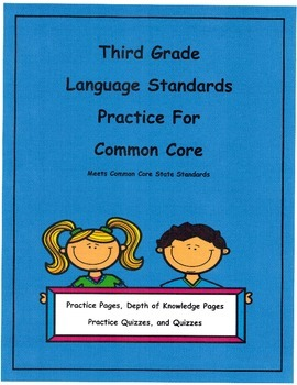 Adjectives and Adverbs 3rd Grade. Language for Common Core Unit2  L3.1a
