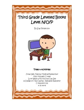 Third Grade Leveled Books: Level N - Set 1