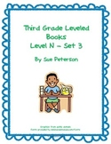 Third Grade Leveled Books: Level N - Set 3