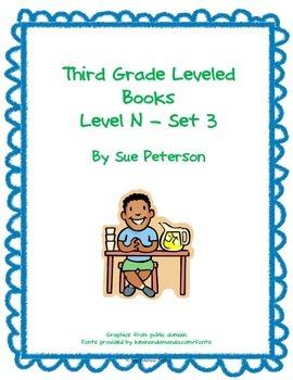 Third Grade Leveled Books: Level N - Set 3