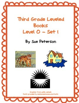 Third Grade Leveled Books: Level O - Set 1