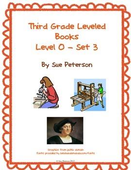 Third Grade Leveled Books: Level O - Set 3