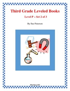 Third Grade Leveled Books: Level P - Set 2