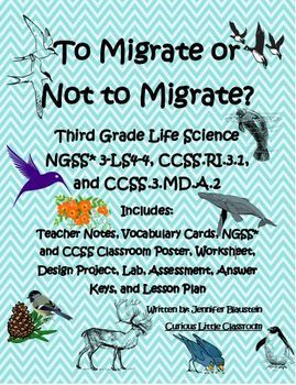 Third Grade Life Science, Math, and ELA- To Migrate or Not to Migrate?