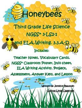 Third Grade Life Science and ELA- Honeybees