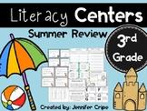 Third Grade Literacy Center Activities (Summer themed centers)