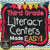 Third Grade Literacy Centers Made EASY!