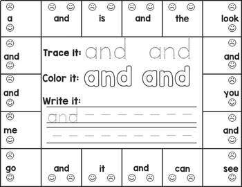 Third Grade Literacy Centers with Hole Punchers {41 Words!}