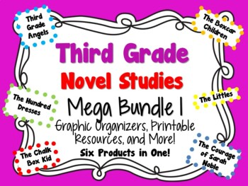 Third Grade Novel Studies Mega Bundle 1