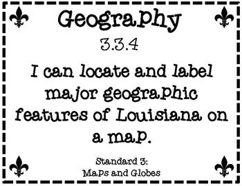 Third Grade Louisiana Social Studies Printer Friendly Grade Level Expectations